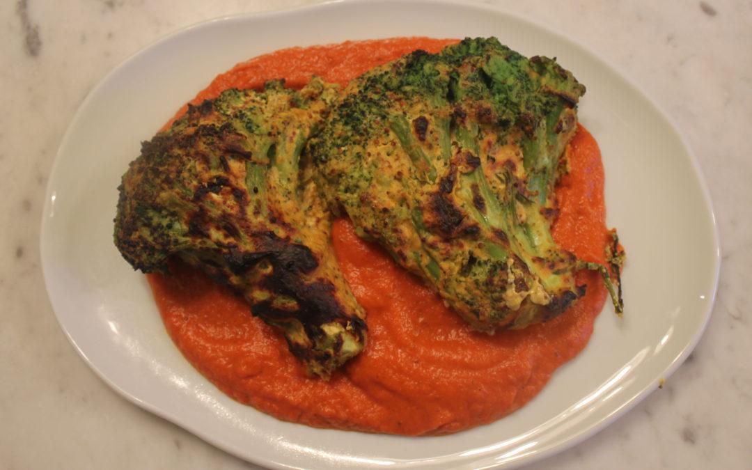 Mustard Broccoli in Makhani Sauce from Gunpowder
