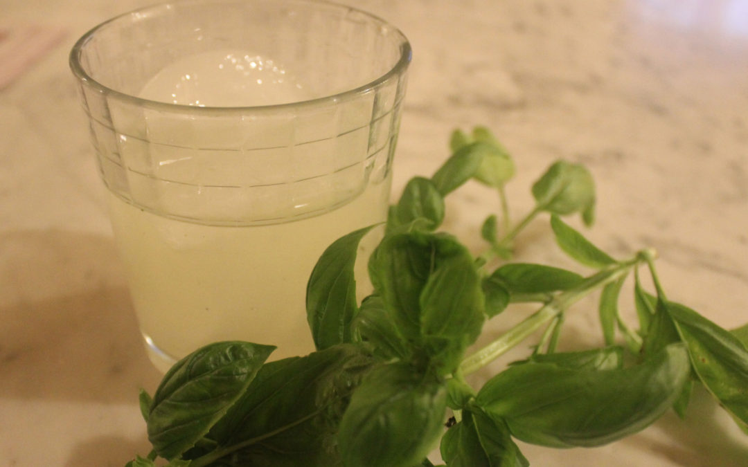 Gin Basil Smash [which is not the Basito]