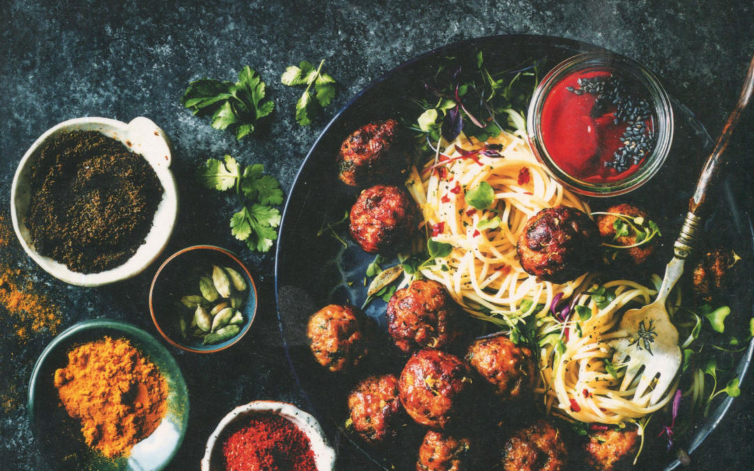 Cookbook Review: Masala & Meatballs.