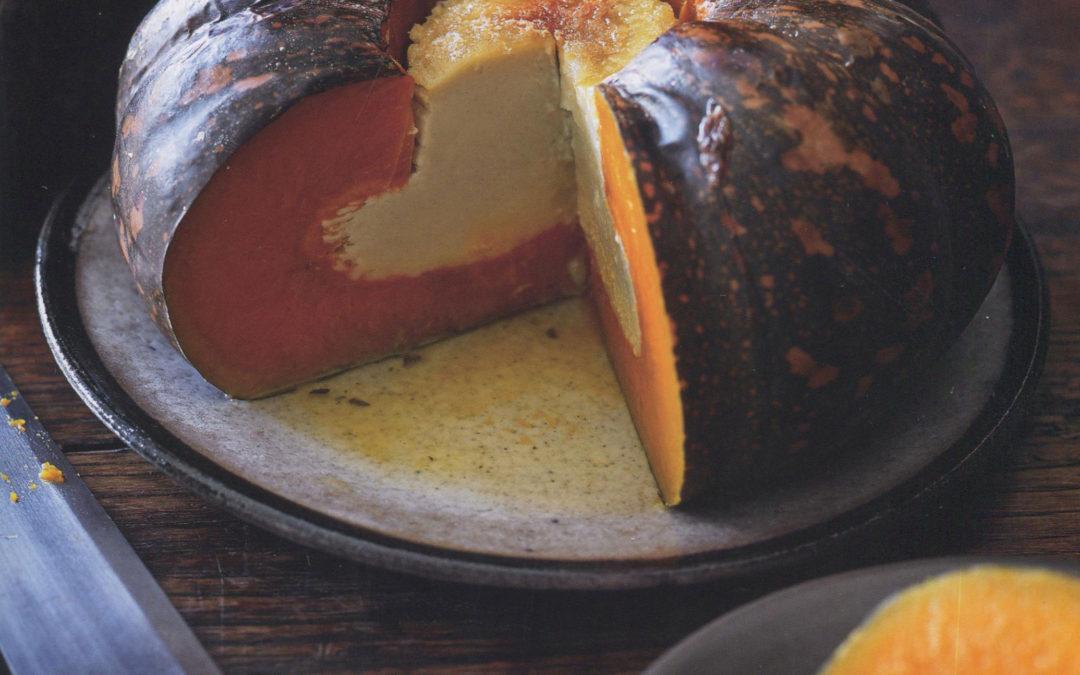 Thanksgiving Idea: Pumpkin Custard from Adam's Big Pot
