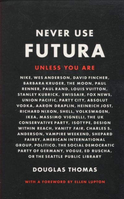 Cookbook Review: Never Use Futura