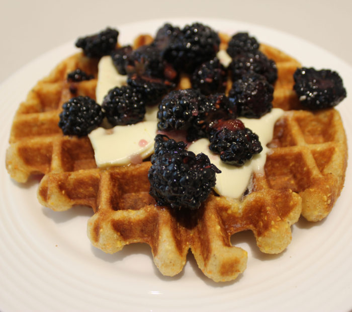 Waffles for a Windy Day [Cornmeal and Buttermilk Waffles!]