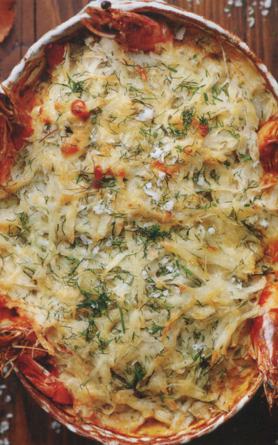 Fish Pie with Dubliner Cheese Rösti Topping from Clodagh's Suppers