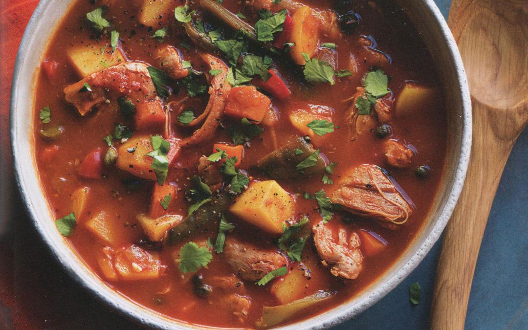 Chicken and Potato Stew from Rustic Mexican by Deborah Schneider