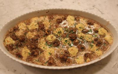 Meatball and Ricotta Bake from The Italian Regional Cookbook by Valentina Harris
