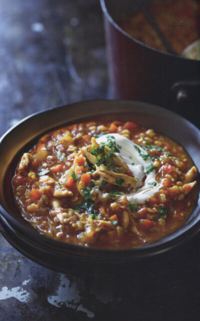 Mulligatawny Soup from Adam's Big Pot