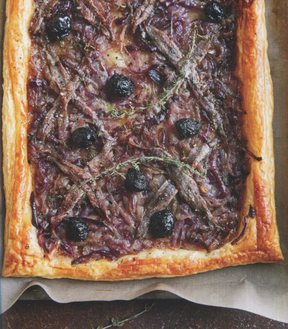 Pissaladiere from Art of the Party by Kay Plunkett-Hogge